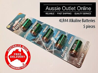 AU7.99 • Buy Quality 5x 4LR44 / 4AG13 Alkaline Battery 6V EUNICELL - Aussie Outlet Online NSW