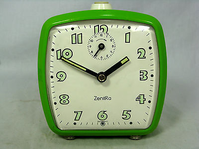 Schöner / Cool 70´s Design ZentRa Wecker  # Alarm Clock In Working Condition • 42.90£