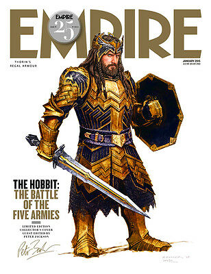 £49.99 • Buy Empire JANUARY 2015 Thorin Oakenshield The Hobbit The Battle Of The Five Armies
