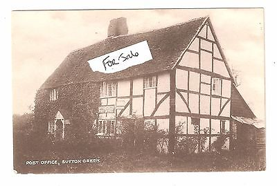 Post Office Sutton Green Guildford GU4 Nr Woking House Dates To 1549 Unused • 19.15£