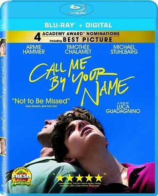 AU33.82 • Buy Call Me By Your Name BLU-RAY NEW