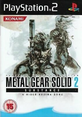 £16.99 • Buy Metal Gear Solid 2 Substance Ps2