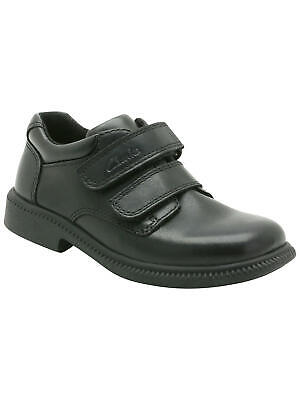Boys Clarks Deaton Inf Black Leather School Shoes Size UK 7G/EU 24 RRP:£36.00 • 19.99£