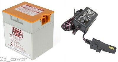 Power Wheels 00801-1869 12 Volt Charger for Grey Battery Fisher Price Genuine sp