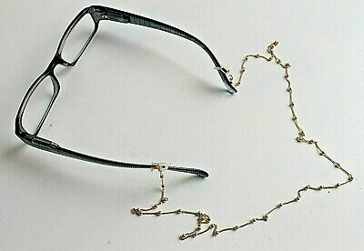 Neck Chain For Your Glasses Or Sunglasses Gold, Black, Silver Or Gold Pearl  • 2.95£