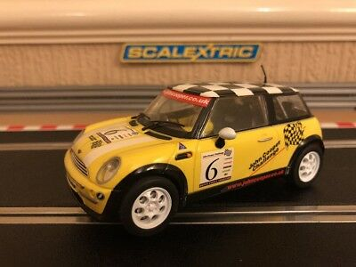 Scalextric Mini Cooper John Cooper Challenge No6 C2485A Good Condition • 33£