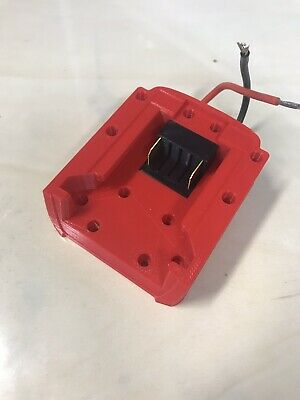 AU37.99 • Buy DIY Milwaukee 18v DIY Project Battery Adapter/BASE *GST Inc, MEL STOCK