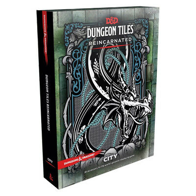 AU44.95 • Buy Dungeons & Dragons Dungeon Tiles Reincarnated City NEW