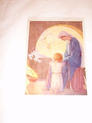 Postcard, 1941, Religious Image By Margaret Tarrant: The End Of The Day • 2£