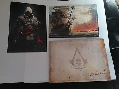 Assassins Creed  Black Flag Litho Art Cards X 2 With Envelope Mint Condition • 3.50£