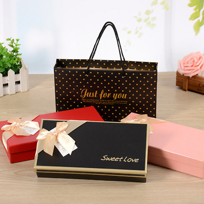 AU14.98 • Buy 1000GSM Gift Boxes Chocolate Box Case Wedding Valentine Party Festival Birthday