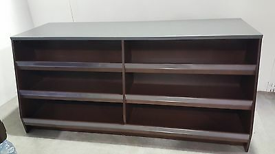 £485 • Buy Retail Counter Shop Confectionary Wood Cashier Desk 2000mm In Brown Or Maple