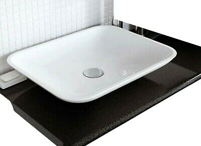 £35.92 • Buy CEDRUS RESIN BASIN SINK WHITE WASH BOWL COUNTER TOP (W)499 X (H)92 X (D)399mm