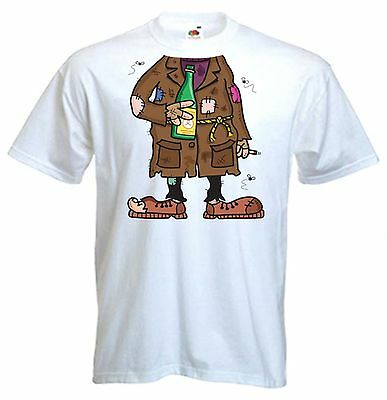 TRAMP FANCY DRESS MENS T-SHIRT Stag Party Do Night  Costume Outfit • 11.99£