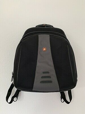Swiss Army Wenger Black Gray Laptop Tablet Backpack School Work Hiking Travel • 17.73£