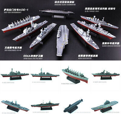 £3.99 • Buy 4D Assembly Battleship Warship Model Modern Class Aircraft Carrier Military Toy