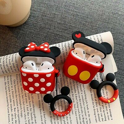 $ CDN5.23 • Buy Cute Cartoon Silicone Earphone Case Cover Protective For Apple AirPods 1 2 / Pro