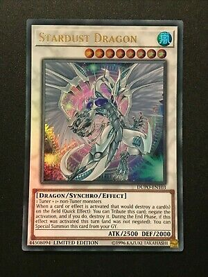 Stardust Dragon | DUPO-EN103 | Ultra Rare | Limited Edition | YuGiOH • 2.05£