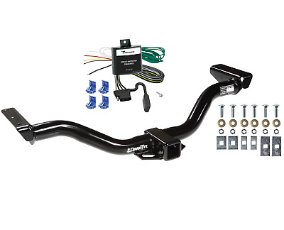 trailer tow hitch for 00-04 nissan xterra 2 receiver w/ wiring harness kit