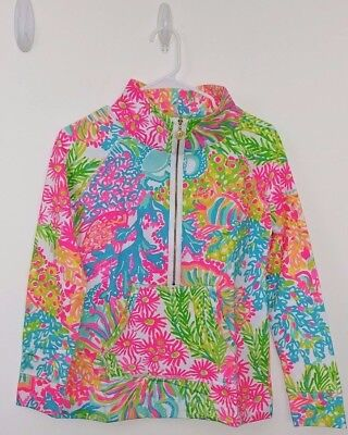 dd121267c2613f NWT Lilly Pulitzer Multi LOVERS CORAL Skipper Popover Size XS New OCTOPUS  Pink • 89.99$
