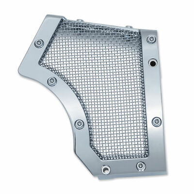 Kuryakyn Chrome Mesh Cage Front Drive Pulley Cover Bobber Harley Sportster 04-17 • 92.70$