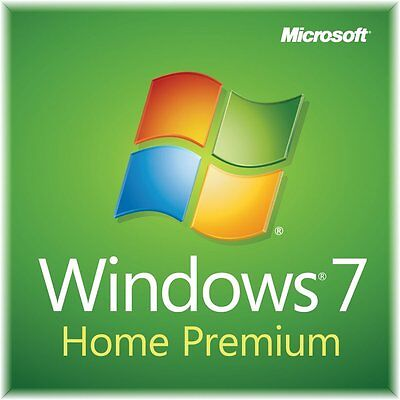 Windows 7 Home Premium 32bit CoA & Full Version OEM DVD SP1 100% GENUINE  • 79.49£