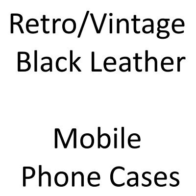 £6.99 • Buy LEATHER CASE/Cover For YOUR Retro/Vintage Mobile Phone [CHOOSE FROM A BIG LIST]