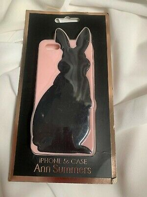 Ann Summers Iphone S 5 Case Cover Rabbit Bunny Playboy  Glam Sexy Brand New  • 3.99£