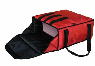 PIZZA DELIVERY BAG- EXTRA WARM- FULLY INSULATED -  L18  X W18  X H8  • 19.49£