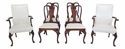 $1795 • Buy LF47235EC: Set Of 6 HICKORY CHAIR CO Mahogany Dining Room Chairs