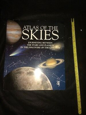 Atlas Of The Skies-Giunti Editorial Group...Stars Solar System Universe Planets • 9.95£
