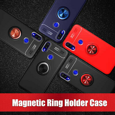 AU6.99 • Buy For Xiaomi Redmi Note 7 7 Pro Hybrid Armor Magnetic Ring Holder Stand Case Cover