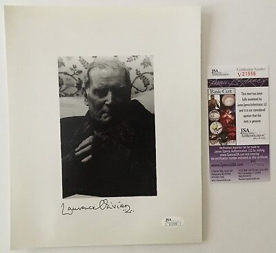 Laurence Olivier Signed Autographed 8x10 Photo JSA Certified • 102.67£
