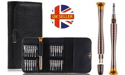 25 Piece Multi Functional Screwdriver Kit Mobile Phone Computer PC Watch Tool • 4.19£