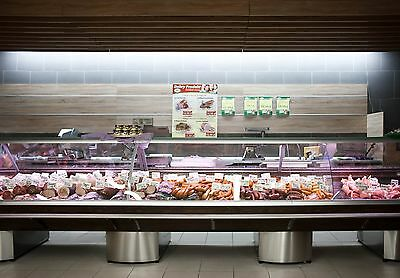 Serve Over Counter 4.0m Display Fridge Meat Chiller TOP MODEL • 5,300£