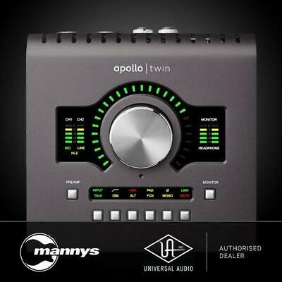 AU1246.09 • Buy Universal Audio Apollo Twin 2 Duo Thunderbolt 2 Interface