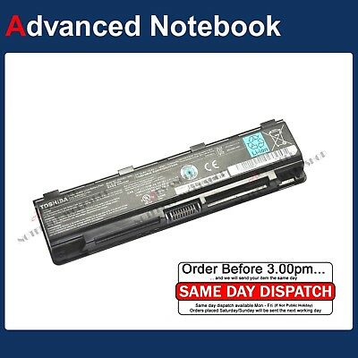 AU59 • Buy Genuine Battery For Toshiba Satellite C850 L800 L850 P850 P850D P870 PA5024-1BRS