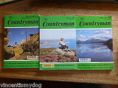 The Countryman Magazine (3 Issues From 1990 - 1992) • 3£