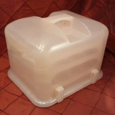 Cupcake Courier Cupcake Caddy - Holds 36 - Pink Plastic Huntington Beach • 29.12£