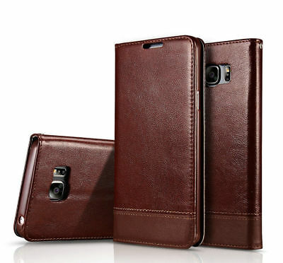 $ CDN7.77 • Buy Samsung Galaxy Note 9/8 S7/S8+ Leather Wallet Card Holder Flip Stand Case Cover
