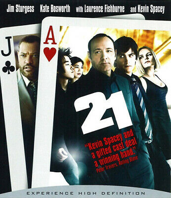 AU23.99 • Buy 21 (2008 Kevin Spacey) BLU-RAY NEW