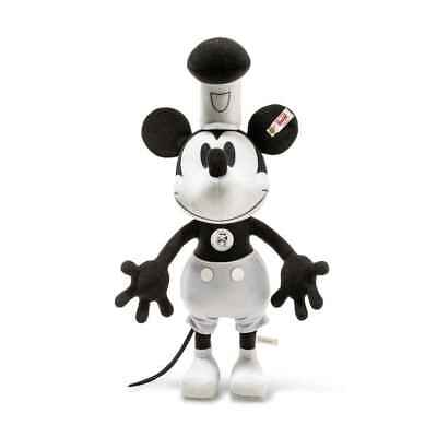 $385 • Buy  Steiff  Steamboat Willie Mickey Mouse  Ean 354458 90th Birthday Lim Edition-
