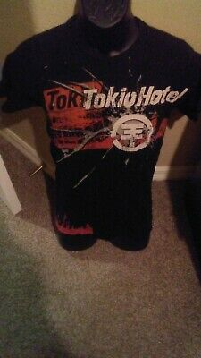 $3.99 • Buy TOKIO HOTEL Rock Band BLACK T-SHIRT - SIZE SMALL - Great Condition
