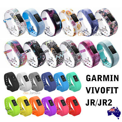 AU5.95 • Buy For GARMIN VIVOFIT JR 1 JUNIOR 2 Replacement Band Fitness Wristband Tracker