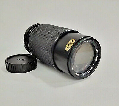 Hanimex MC Auto Zoom 80-200mm F/4.5 6-Blade Macro Lens Ø52 - M/MD Mount • 16.99£
