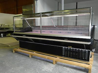 2.5m Serve Over Display Counter Chiller  Meat/fish Fridge Deli Counter • 2,850£