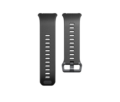 $ CDN25.40 • Buy Original Fitbit Ionic Watch Rubber Band Strap Wristband Charcoal Smoke Gray S L