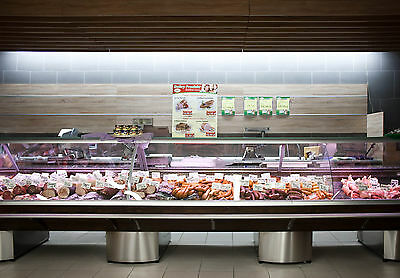 Serve Over Counter 7.5m Display Fridge Meat Chiller  • 7,900£