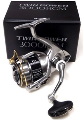 e0022bdd187 Shimano 15 Twin Power 3000HGM Spinning Reel NEW Japan • 361.00$
