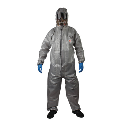 3M 4570 Protective Coverall Chemical Liquid Nuclear Radiation Protection Suit E • 62.78$